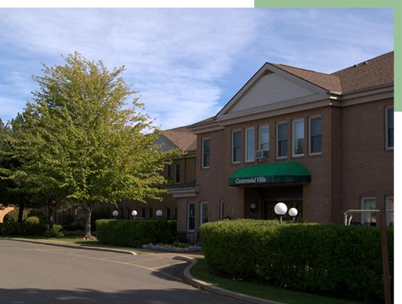 Centennial Villa front view