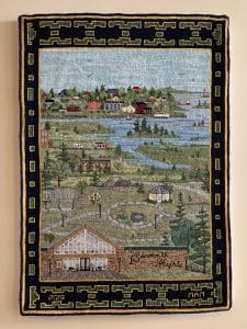 Yarmouth Heights rug hooking